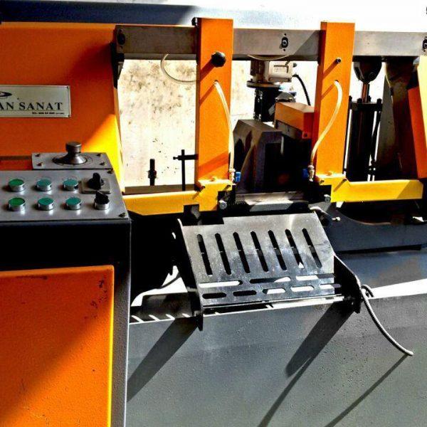 دستگاه اره نواری کیان صنعت 350 AH نماینده رسمی کاترال ایماش ترکیه تولید کننده دستگاه اره نواری واردکننده تیغ اره نواری